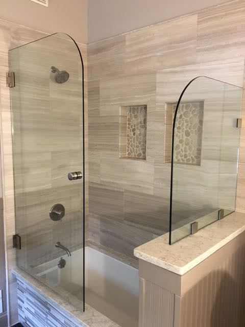 A beautiful shower enclosure in Groton