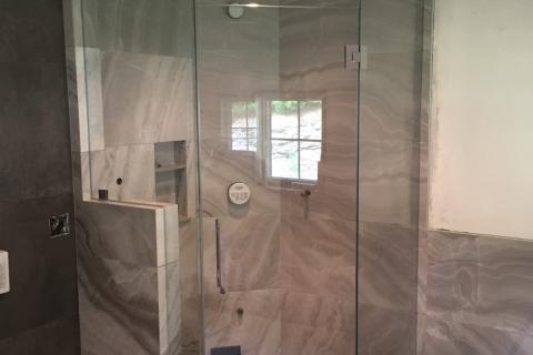 Neo Angle Steam Shower
