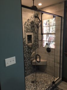 Shower Glass Installation - J R Glass, in Fitchburg, MA